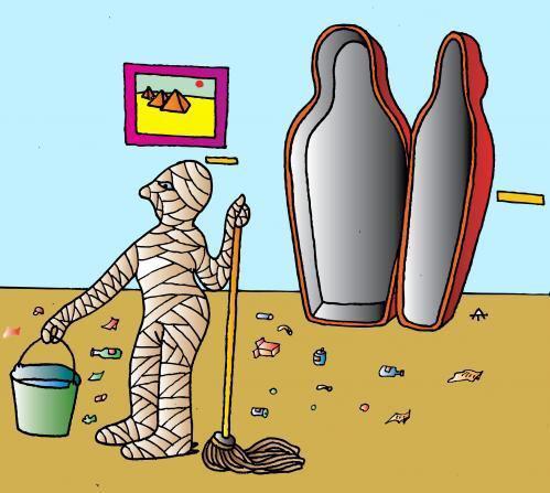 Un'mummi'fied: The Struggle to Look Good